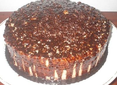 Торт генеральский с кремом
